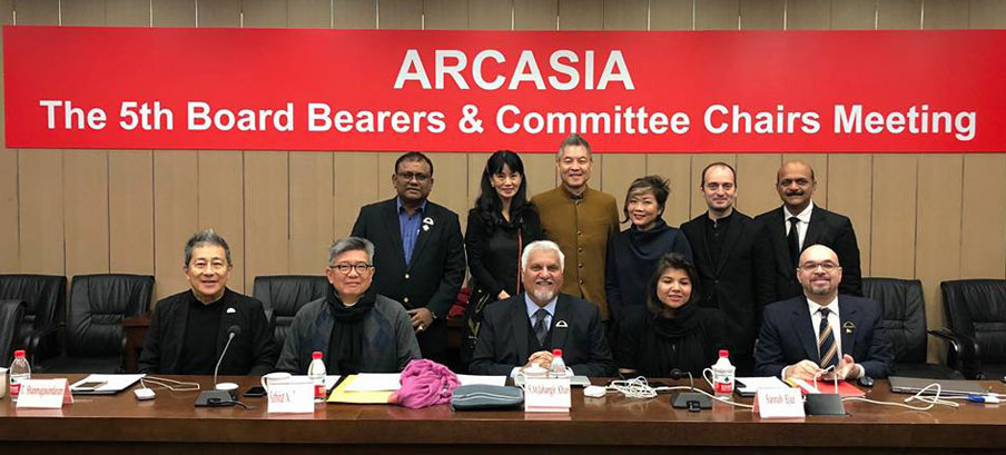 5th ARCASIA OB and CC Meeting, 19th January 2018, Shanghai, China