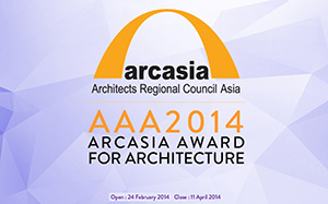 The ARCASIA Awards for Architectures (AAA) 2014