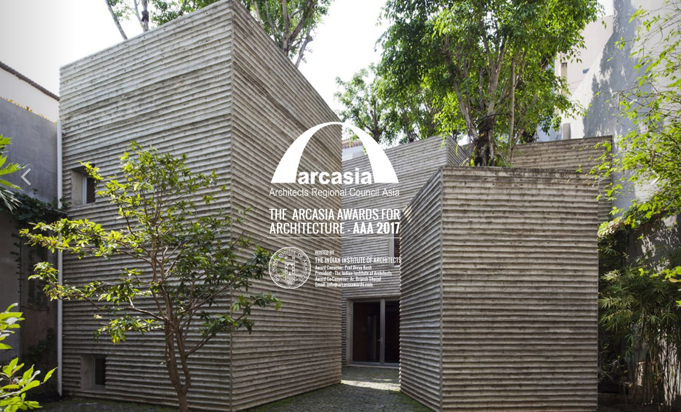 ARCASIA Awards for Architecture AAA 2017