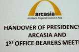 Handing Over of Presidency of Arcasia and 1st Office Bearers Meeting