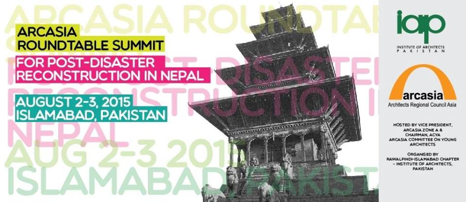 ARCASIA Roundtable Summit on Post - Disaster Reconstruction in Nepal